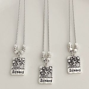 Sisters Charm Necklaces Gift Friendship Handmade